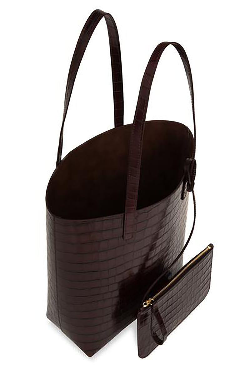 Croc Embossed Everyday Tote