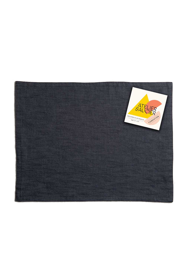 Dark Denim Placemat | Atelier Saucier