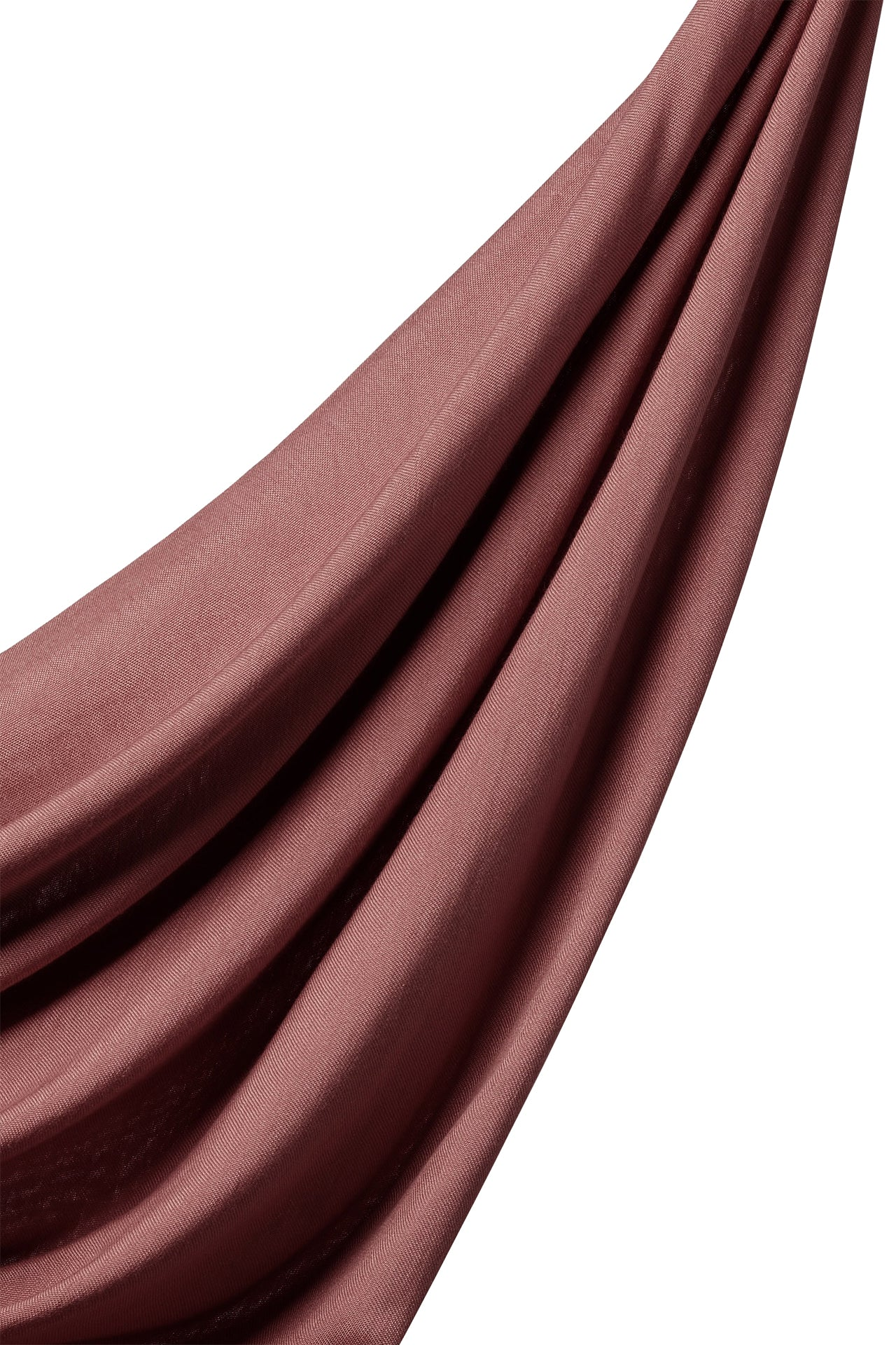 Bamboo Woven Hijab in Rose Mauve