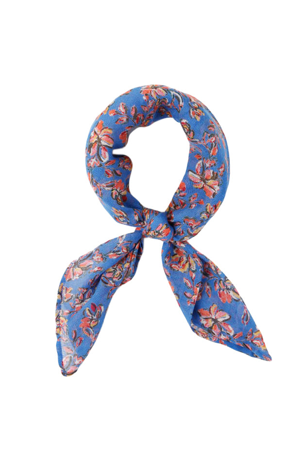 Painterly Floral Neckerchief