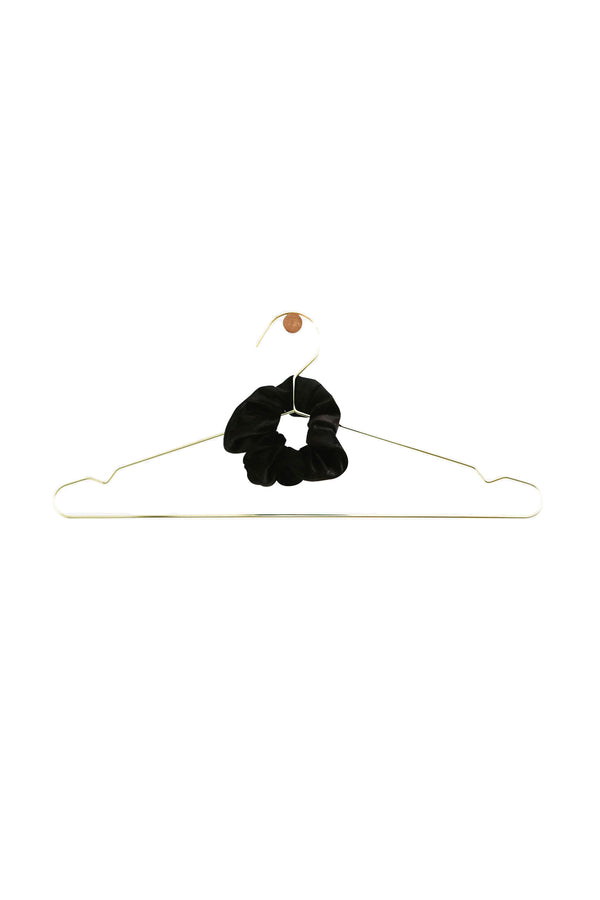 Black Velvet Chiquita scrunchie by DONNI