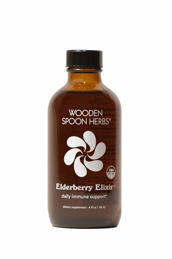 Elderberry Elixir | Wooden Spoon Herbs