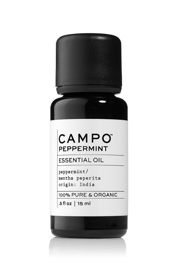 Peppermint essential oil by Campo Beauty