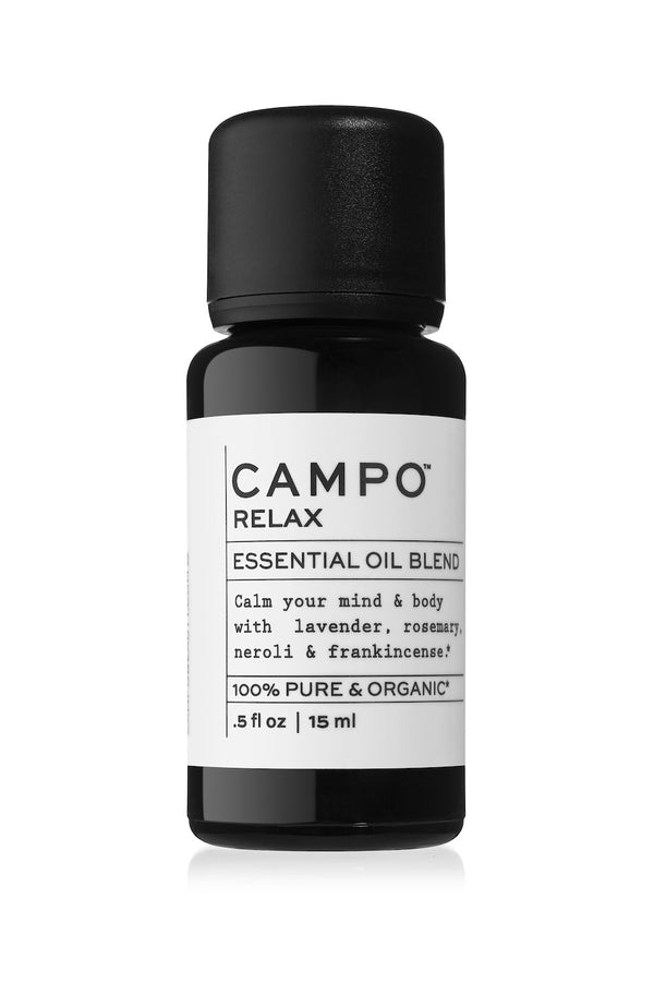Relax essential oil blend by Campo Beauty