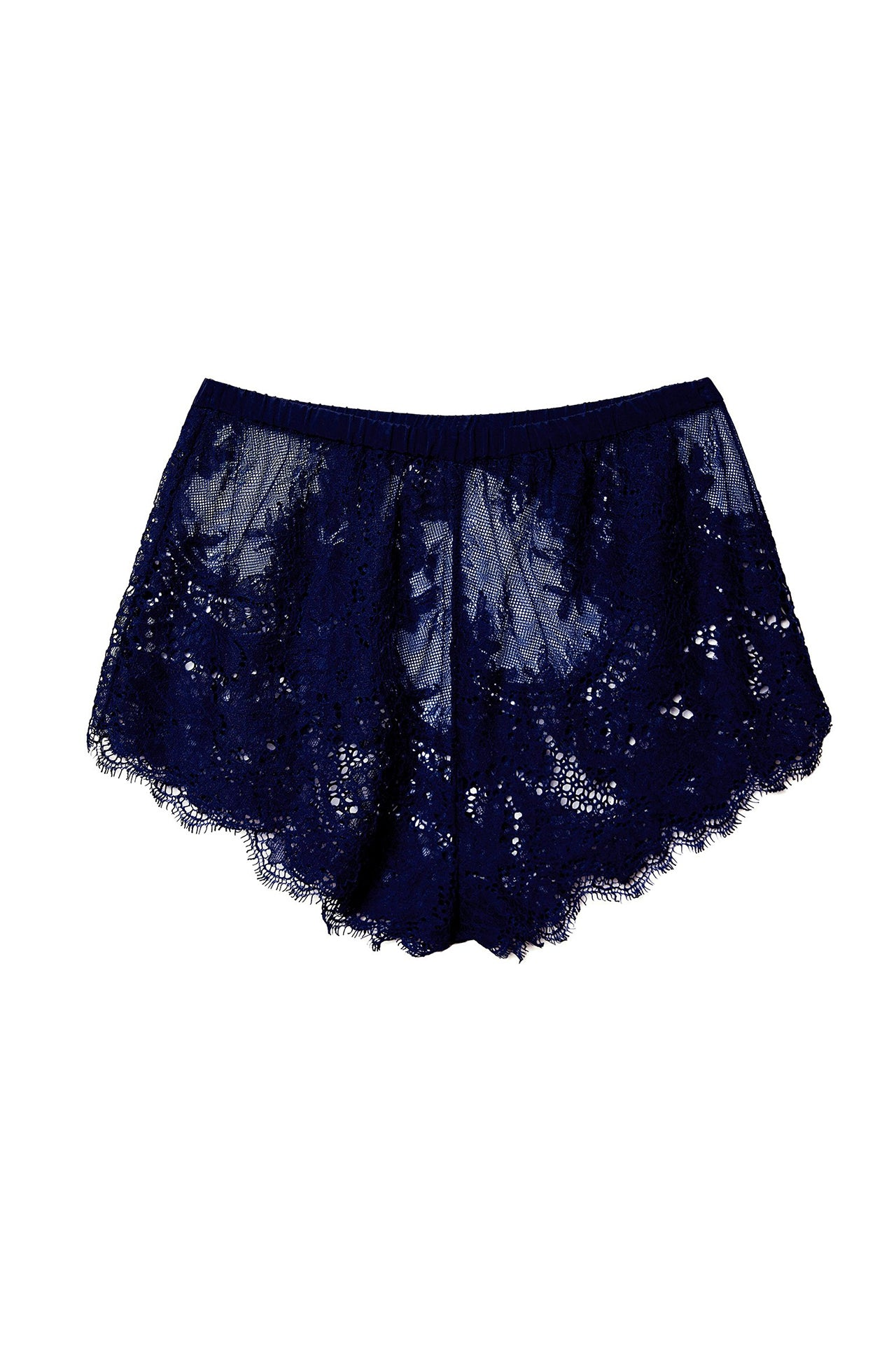 Allover Lace Tap Shorts