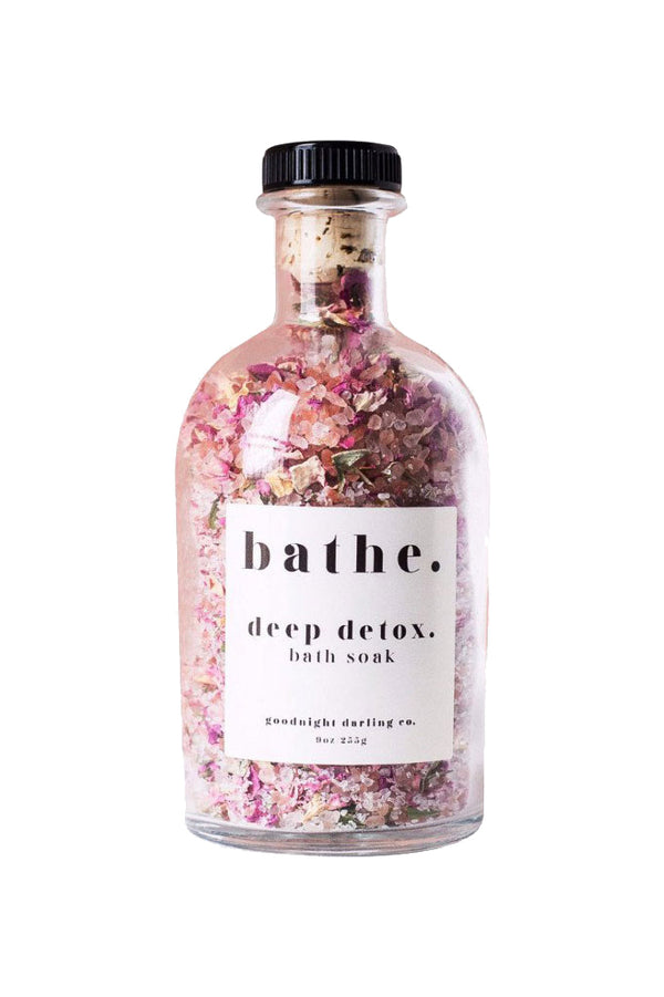 Deep Detox Bath Soak by Goodnight Darling