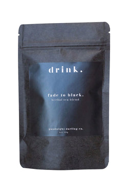 Fade to Black Herbal Tea Blend by Goodnight Darling