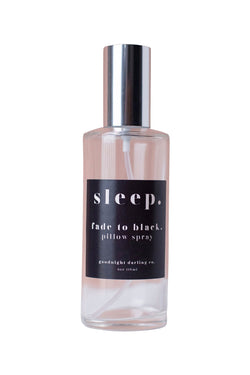 Fade to Black Pillow Spray by Goodnight Darling