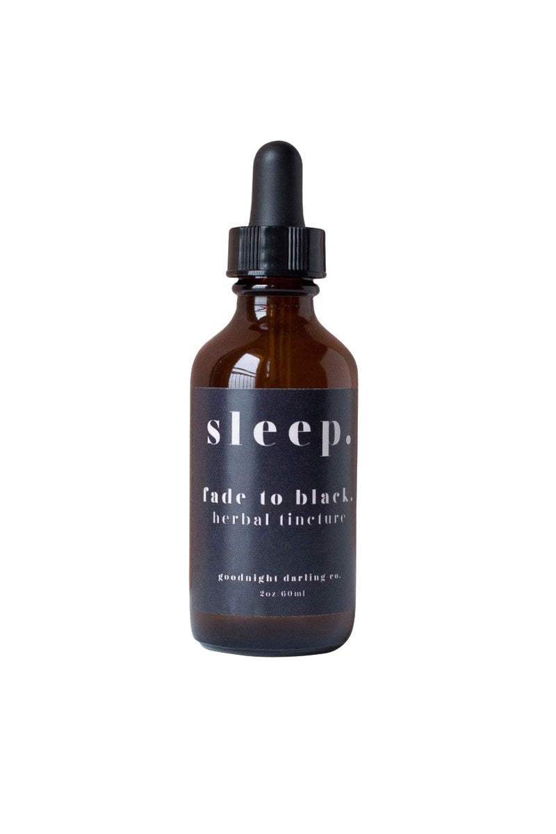 Fade to Black Herbal Tincture by Goodnight Darling