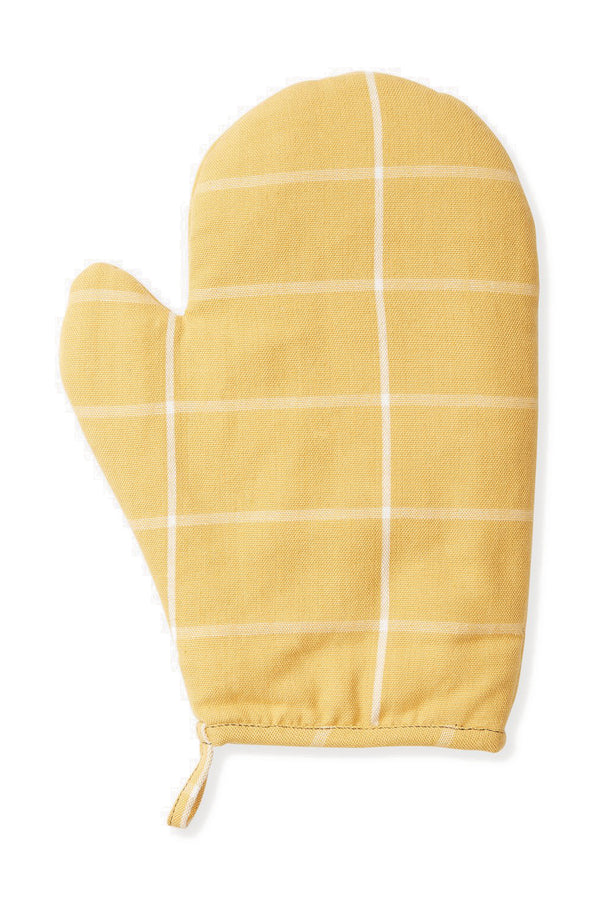 Grid Oven Mitt - Gold | MINNA