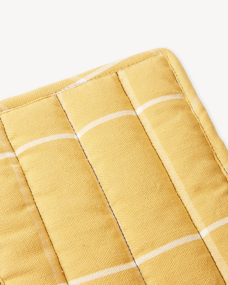 Grid Potholder - Gold | MINNA