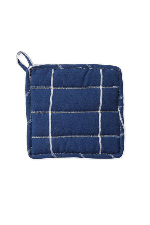 Grid Potholder - Indigo | MINNA