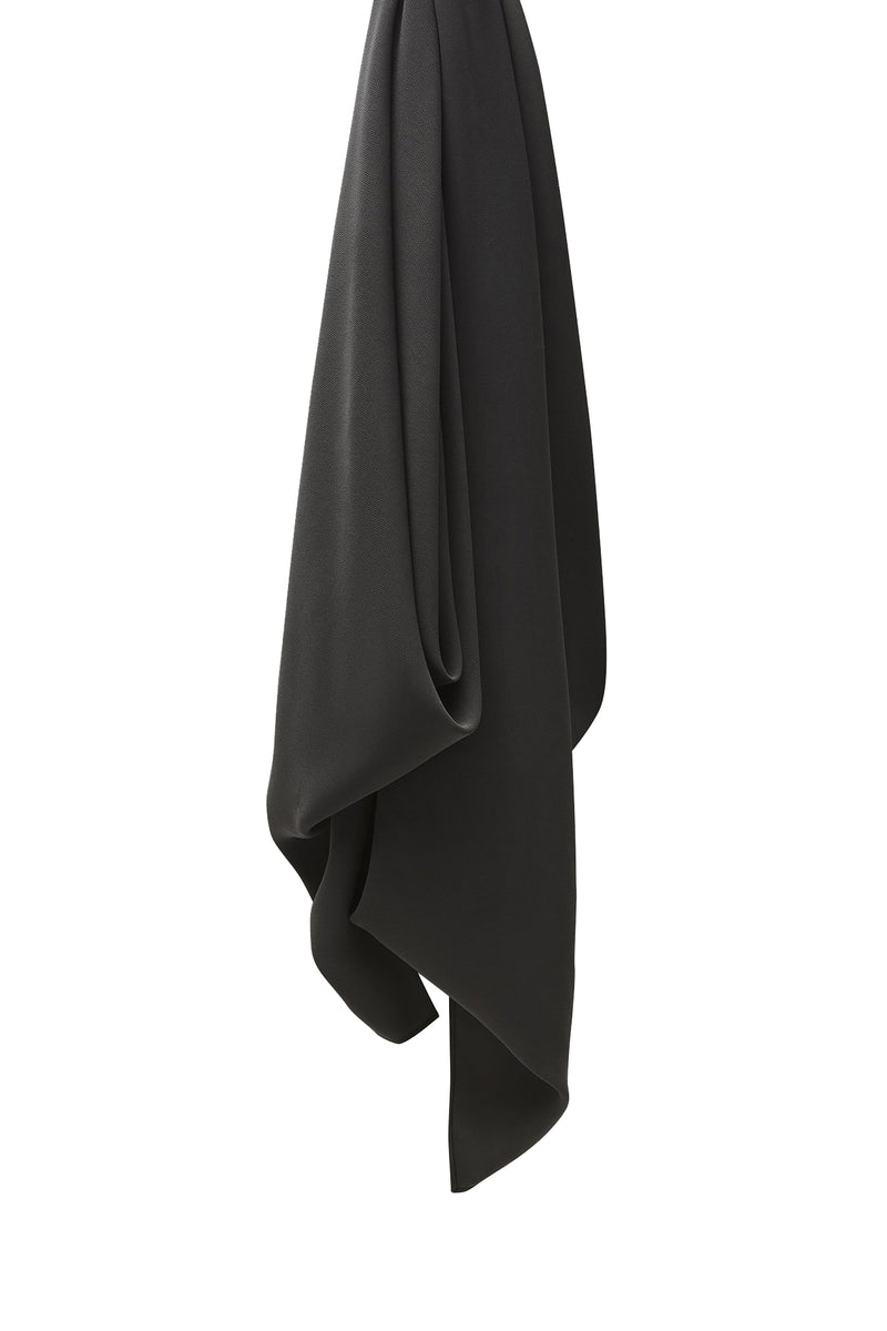 Charcoal grey Everyday Chiffon Hijab by Haute Hijab
