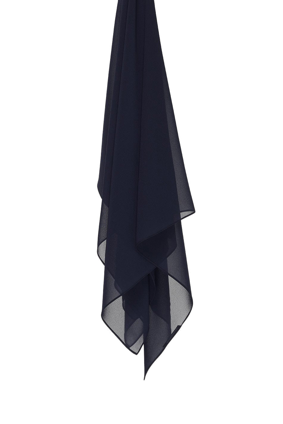Everyday Chiffon Hijab in Navy