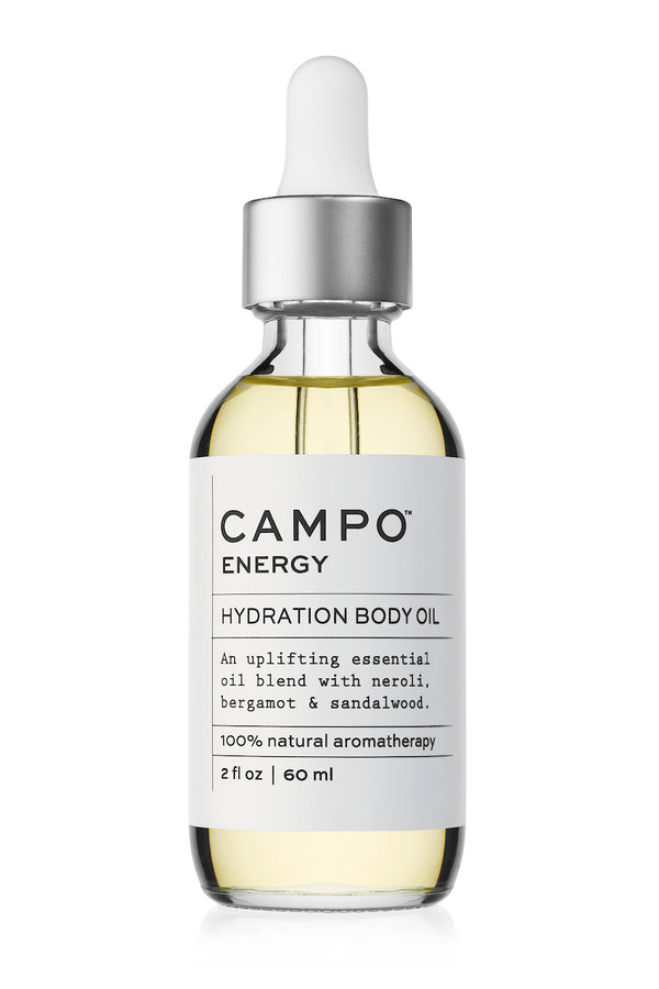 Energy body oil blend by CAMPO Beauty