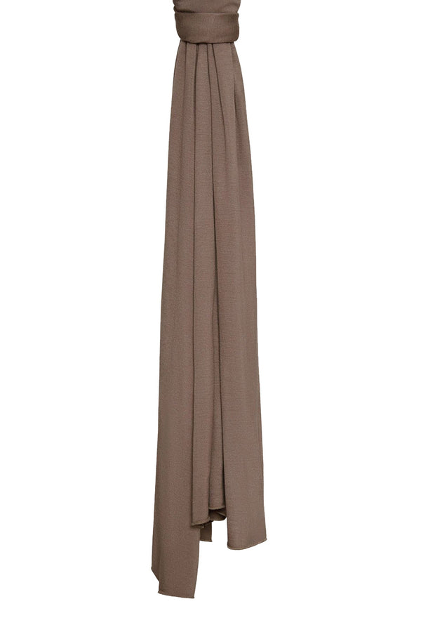 Taupe Premium Jersey Hijab by Haute Hijab