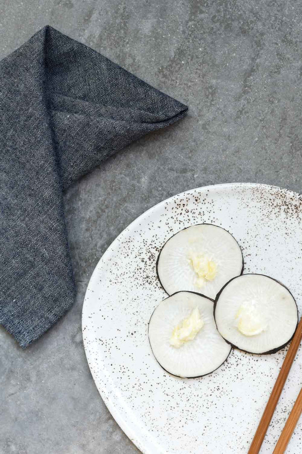 Japanese Chambray Napkins (Set of 4) | Atelier Saucier