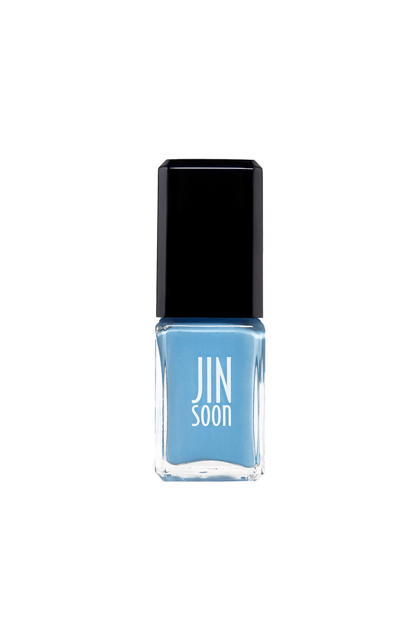 Light Blue Nail Polish Bottle by JinSoon