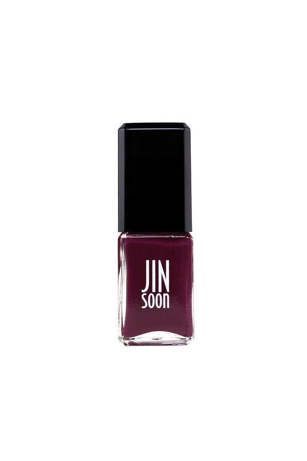 Eggplant purple nail polish in Fable by JINsoon