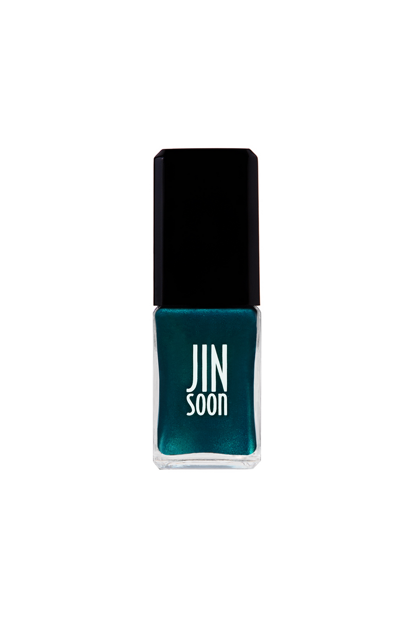 Turquoise nail polish in Heirloom by JINsoon