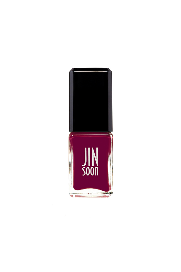 Heroine red purple nail polish by JINsoon