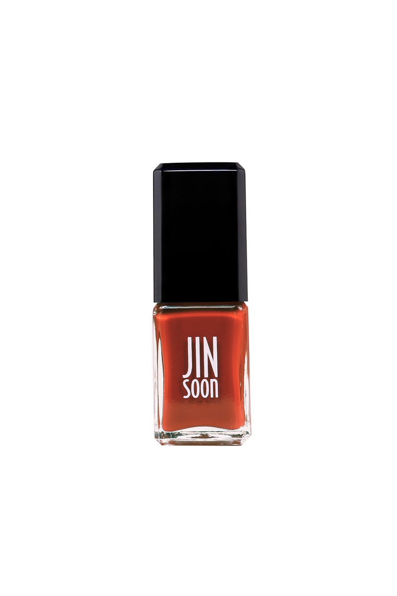 Idyll brick red nail polish by JINsoon