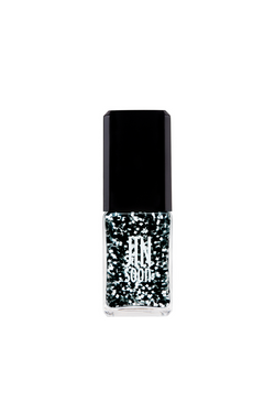 Black and white confetti nail polish in Motif by JINsoon