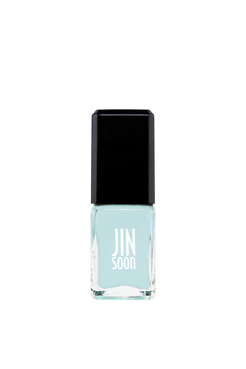Light blue nail polish in Peace by JINsoon