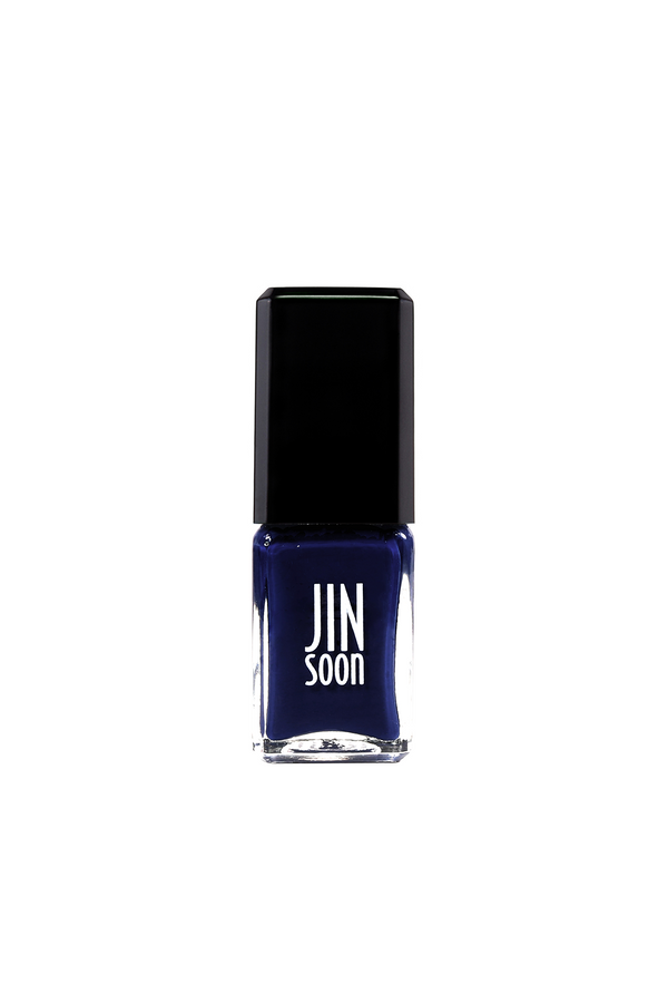 Navy blue nail polish in Plunge by JINsoon