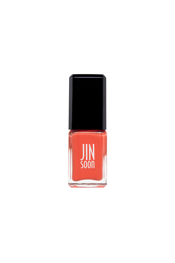 Poppy red nail polish in Sinopia by JINsoon