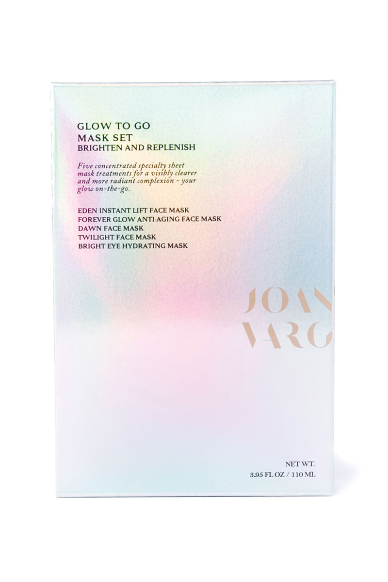 Glow To Go Mask Set by Joanna Vargas