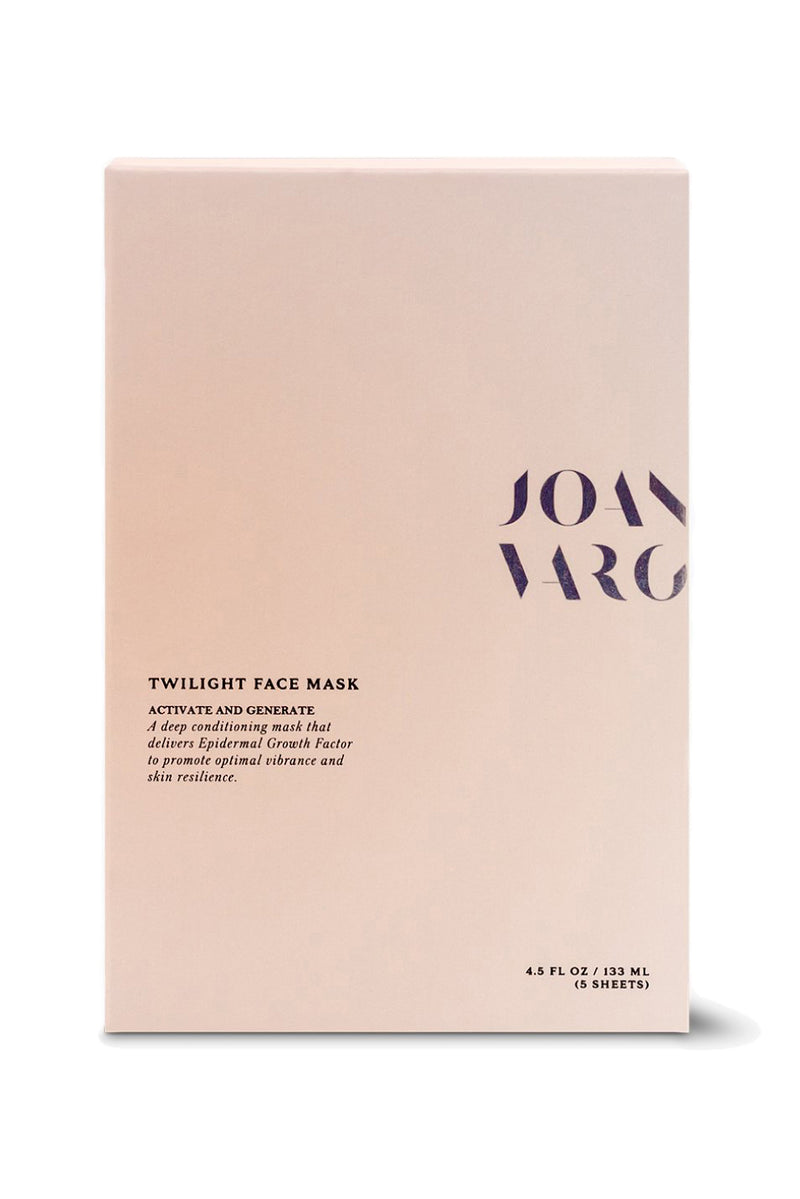 Twilight face mask by Joanna Vargas