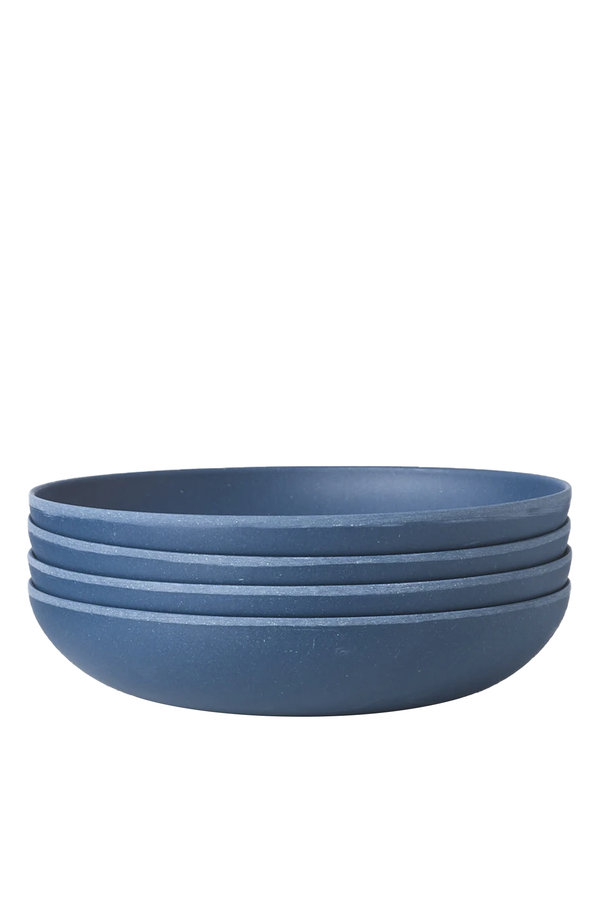 Set of 4 Low Bowls in Dragon Thief | Fable NY