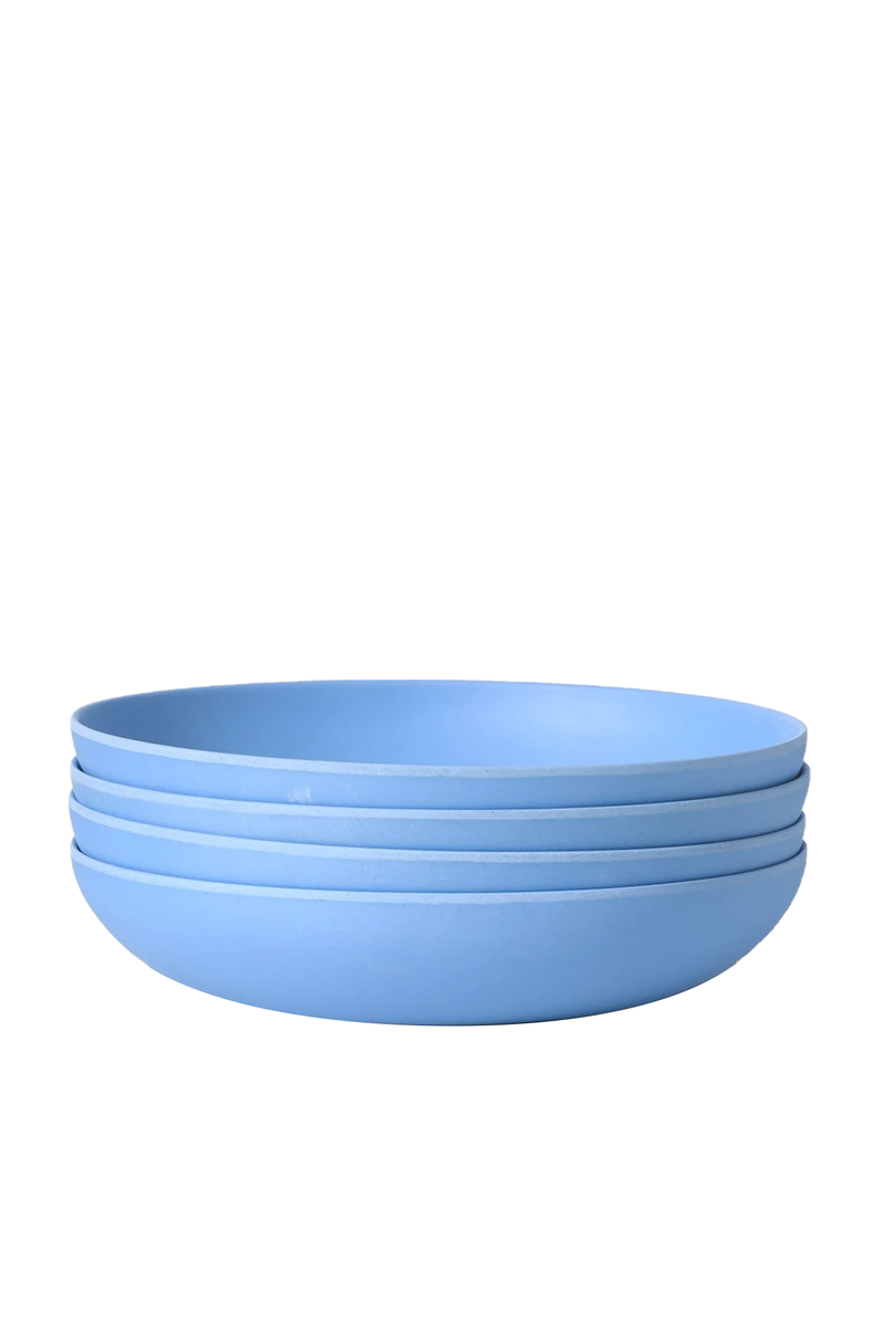 Set of 4 Low Bowls in Robin's Egg | Fable NY