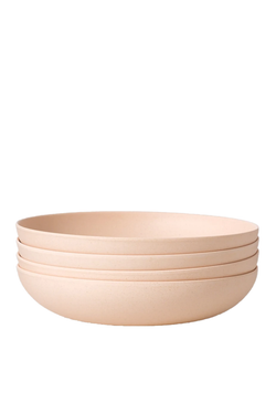 Set of 4 Low Bowls in Sun Rises | Fable NY