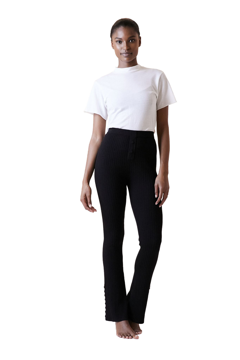 Black Flare Pant by Live The Process