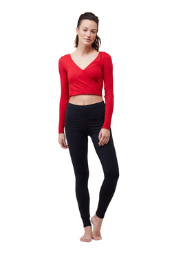 Tango Red Wrap Top by Live The Process
