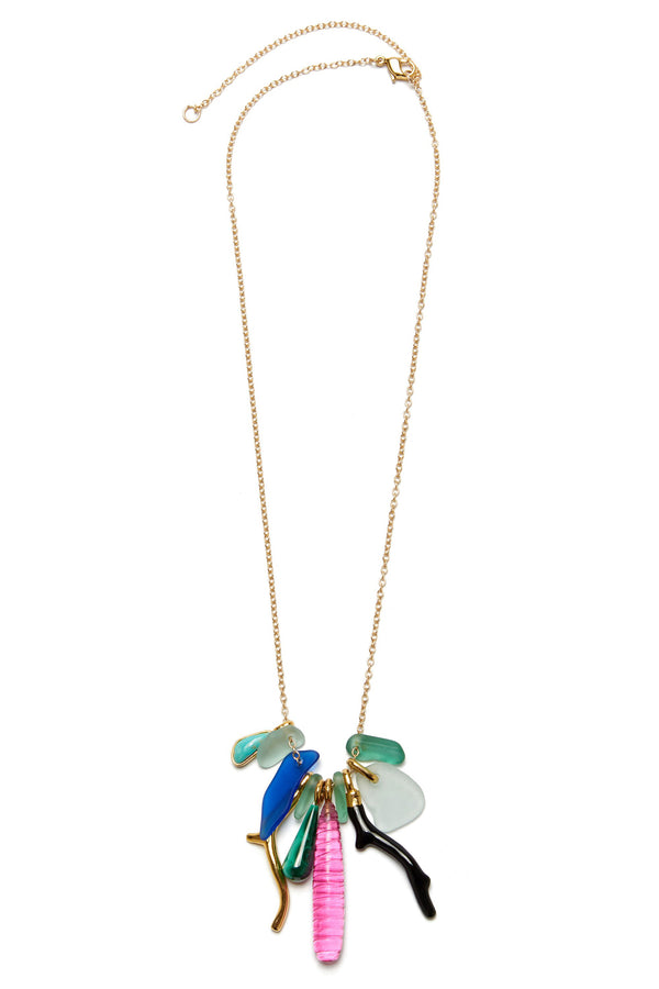 Ligurian Charm Necklace by Lizzie Fortunato