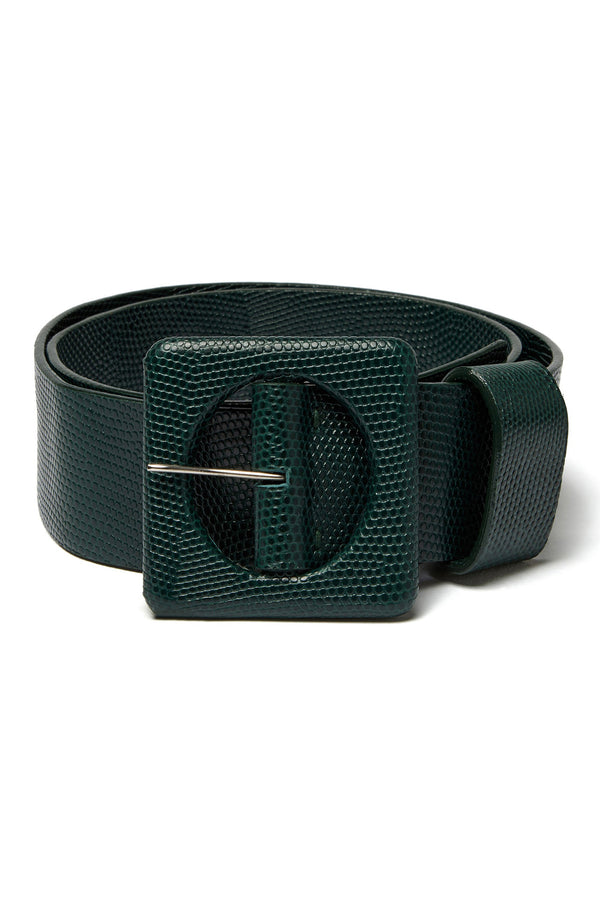Forest green Agnes Belt by Lizzie Fortunato