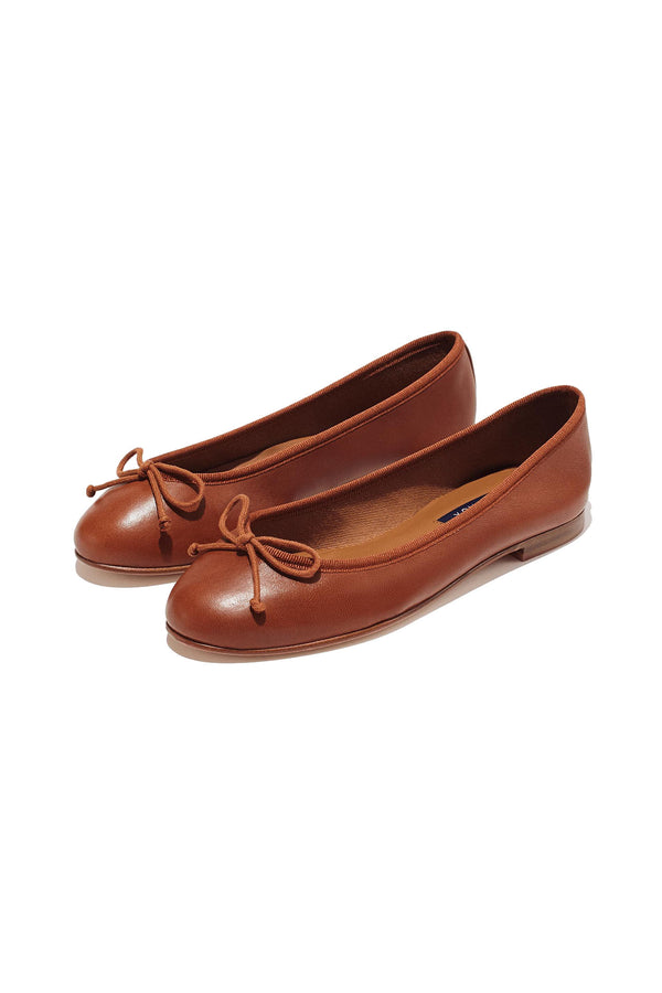 The Demi flat in Saddle by Margaux