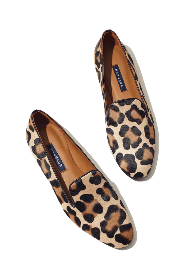 The Loafer in Leopard Haircalf by Margaux