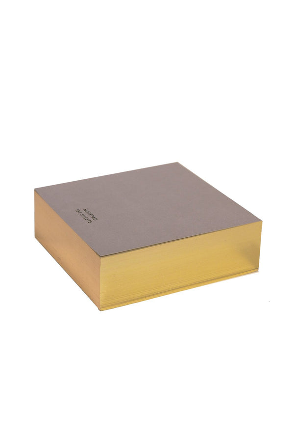 Color Notepad with Gilded Edge
