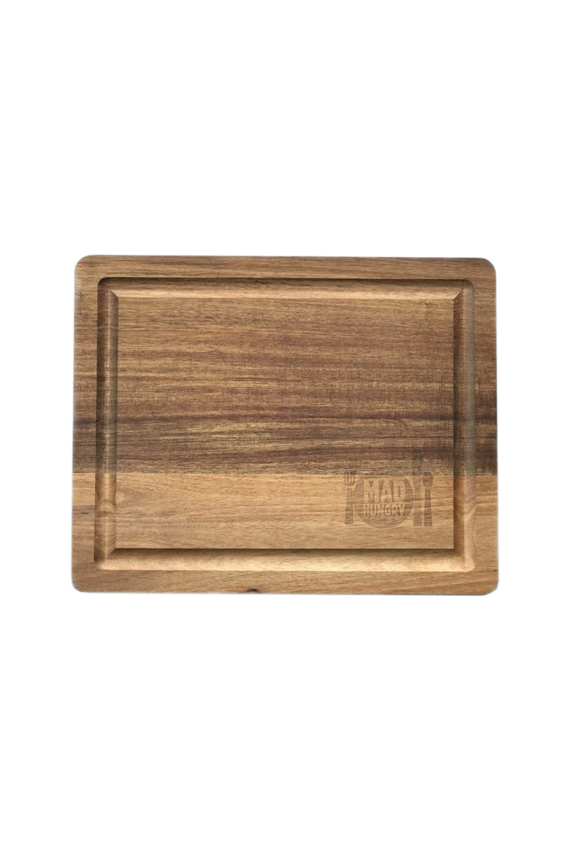 Bamboo Cutting Board by Mad Hungry