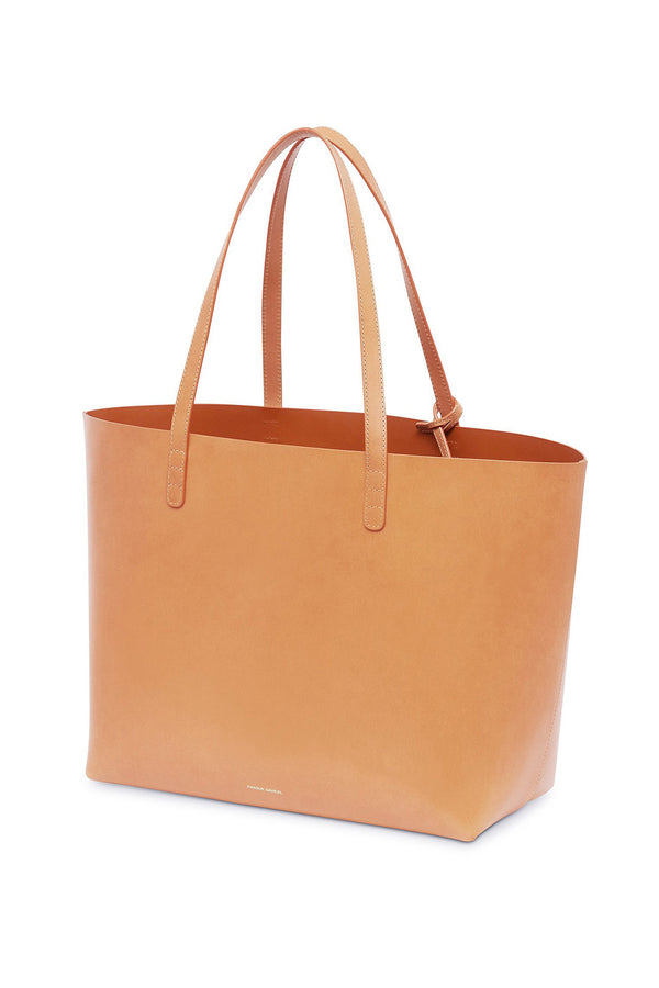Large Leather Weekend Tote (Cotto Interior) by Mansur Gavriel