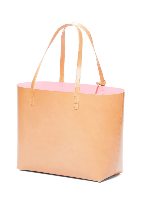 Large Leather Weekend Tote (Rosa Interior) by Mansur Gavriel