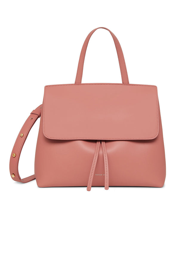 Blush Calf Leather Mini Bag by Mansur Gavriel