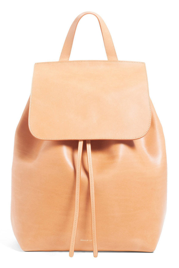 Classic Leather Backpack (Rosa Interior) by Mansur Gavriel