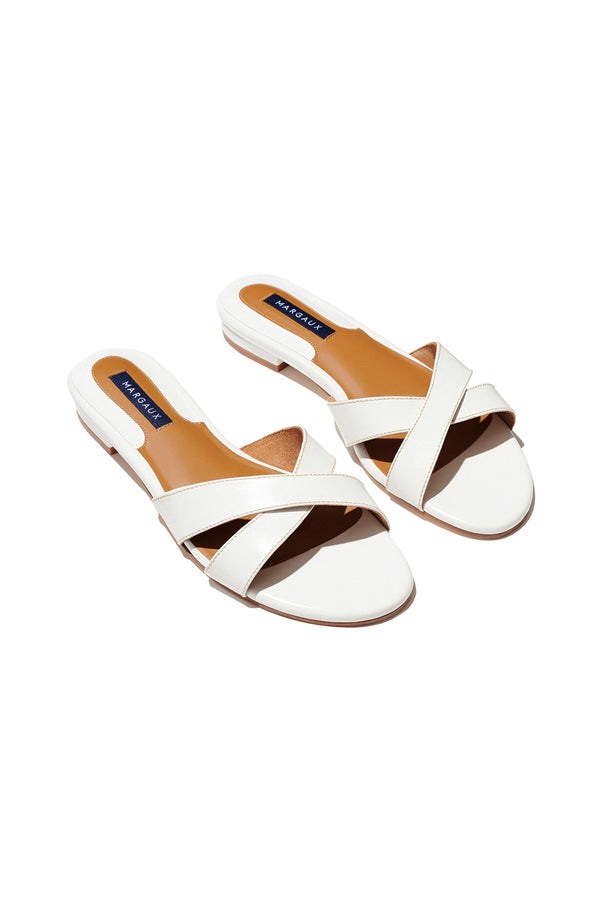 The Sandal in Ivory by Margaux