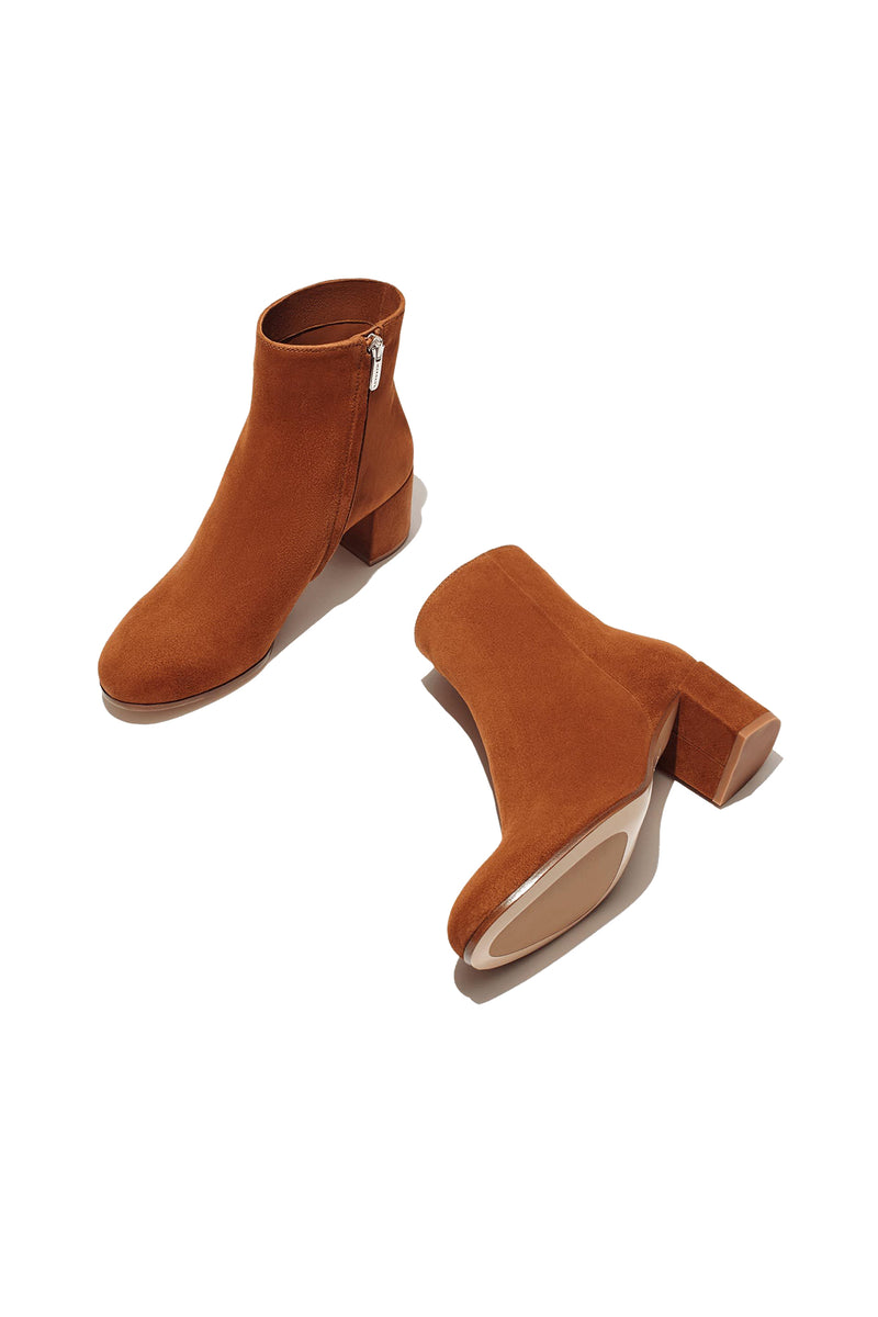 The Boot in Brandy Suede by Margaux