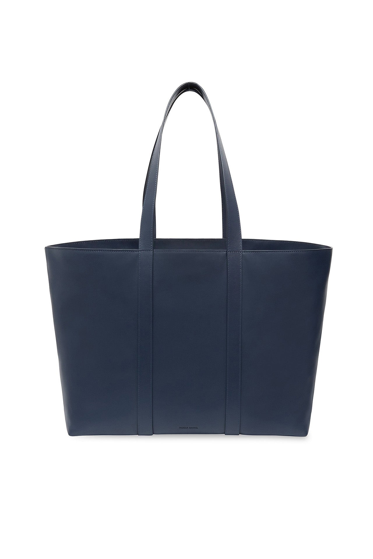 Calf East West Tote